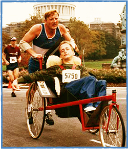 Rick and Dick Hoyt: Team Hoyt